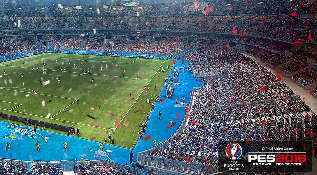 Сегодня премьера PES 2016 — UEFA Euro 2016 на PS3 и PS4