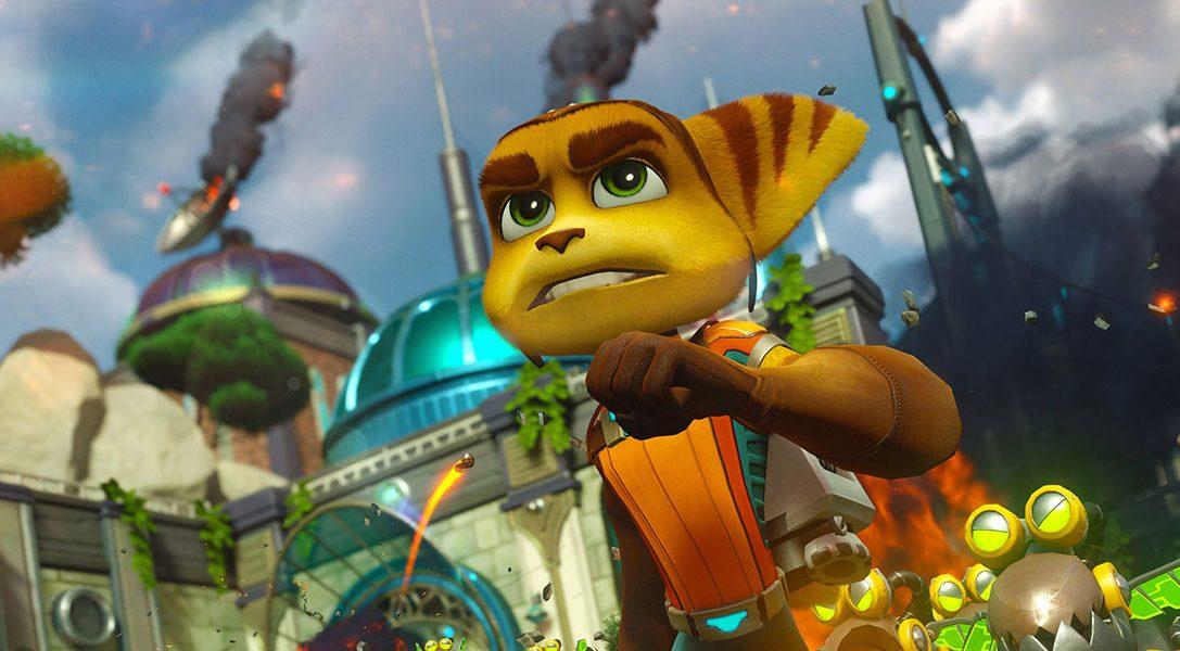 Сегодня праздник — премьера игры Ratchet & Clank на PS4
