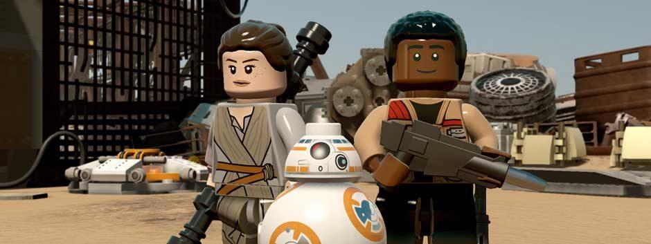 Сыграйте в демоверсию «LEGO Звездные Войны: Пробуждение Силы» на PS4 уже сейчас
