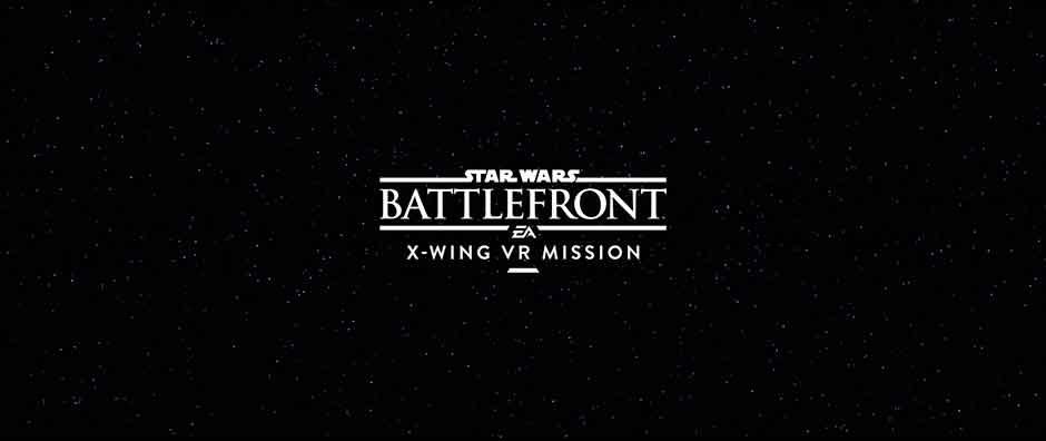 Виртуальная реальность в Star Wars Battlefront — специальные миссии X-Wing VR Mission будут эксклюзивом PS VR