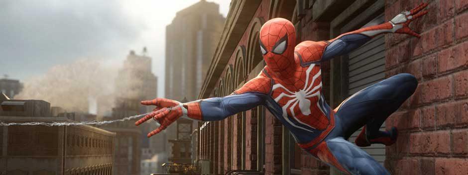 Студия Insomniac представляет новый PS4-эксклюзив Spider-Man и его анонсирующий трейлер