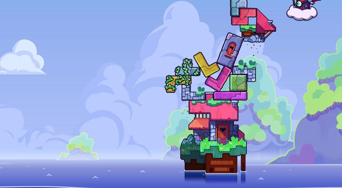 Многопользовательское безумие Tricky Towers уже захватило PS4