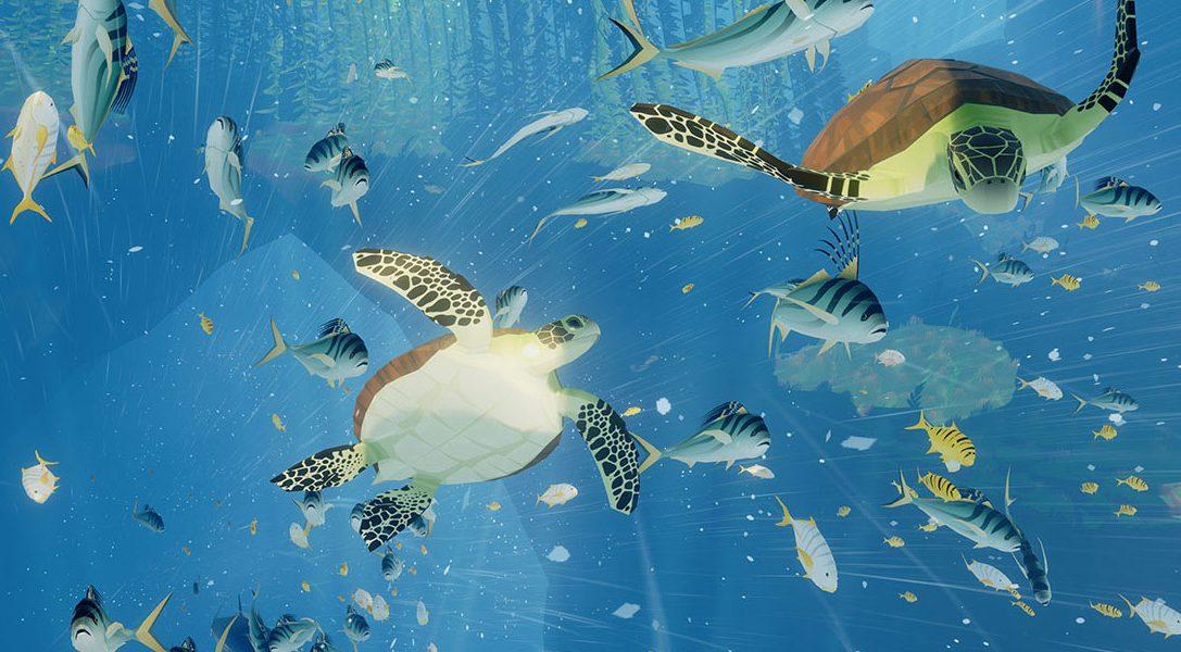 Подводное приключение ABZÛ сегодня отправилось в свободное плавание на PS4