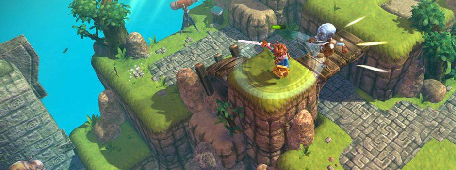 Красочный приключенческий экшен Oceanhorn появится на PS4 7 сентября