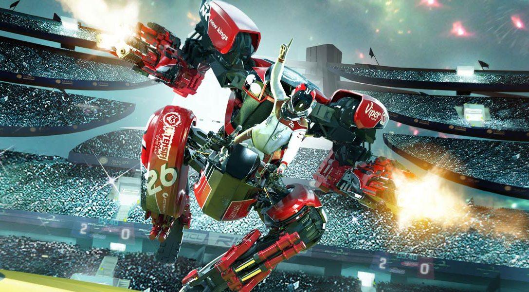Знакомьтесь с визуальными особенностями RIGS Mechanized Combat League