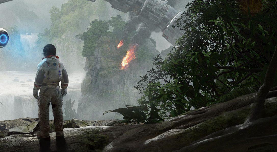 Мельчайшие детали виртуального мира студии Crytek в новом видеоролике Robinson: The Journey