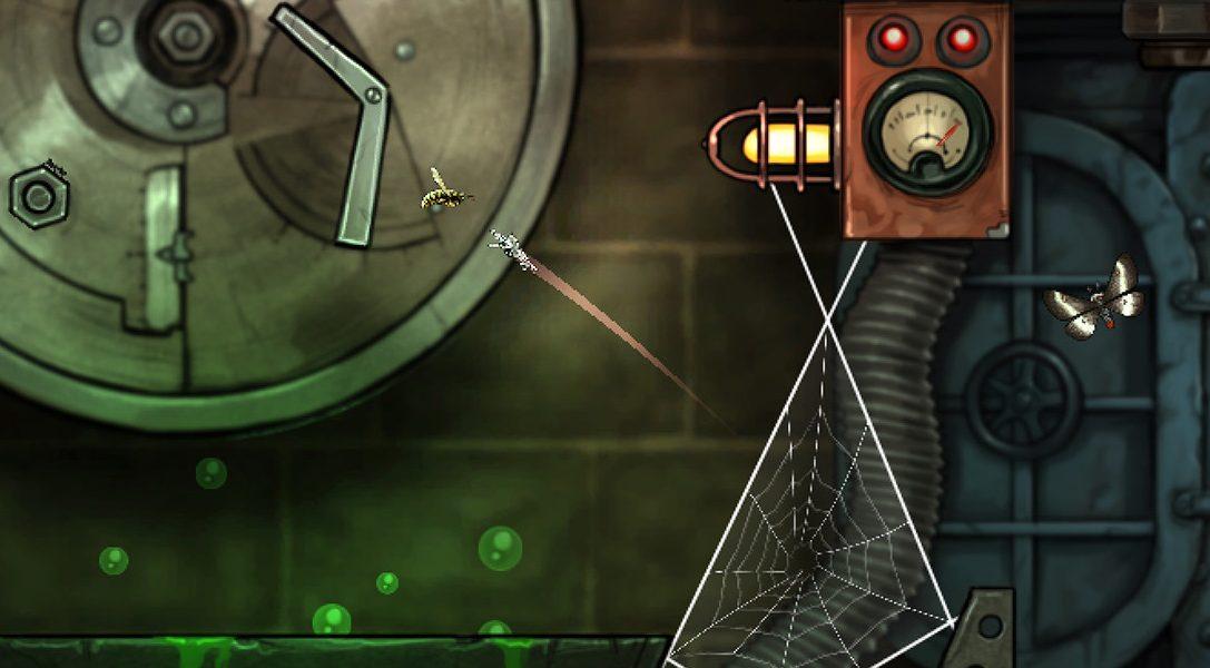 Уже завтра головоломка «Spider: Обряд Сокрытой луны» затянет ваши PS4 и PS Vita в свои сети