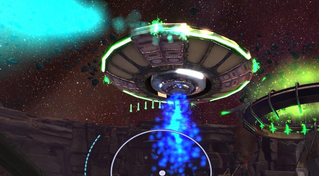 Super Stardust Ultra VR врывается в премьерную линейку PlayStation VR