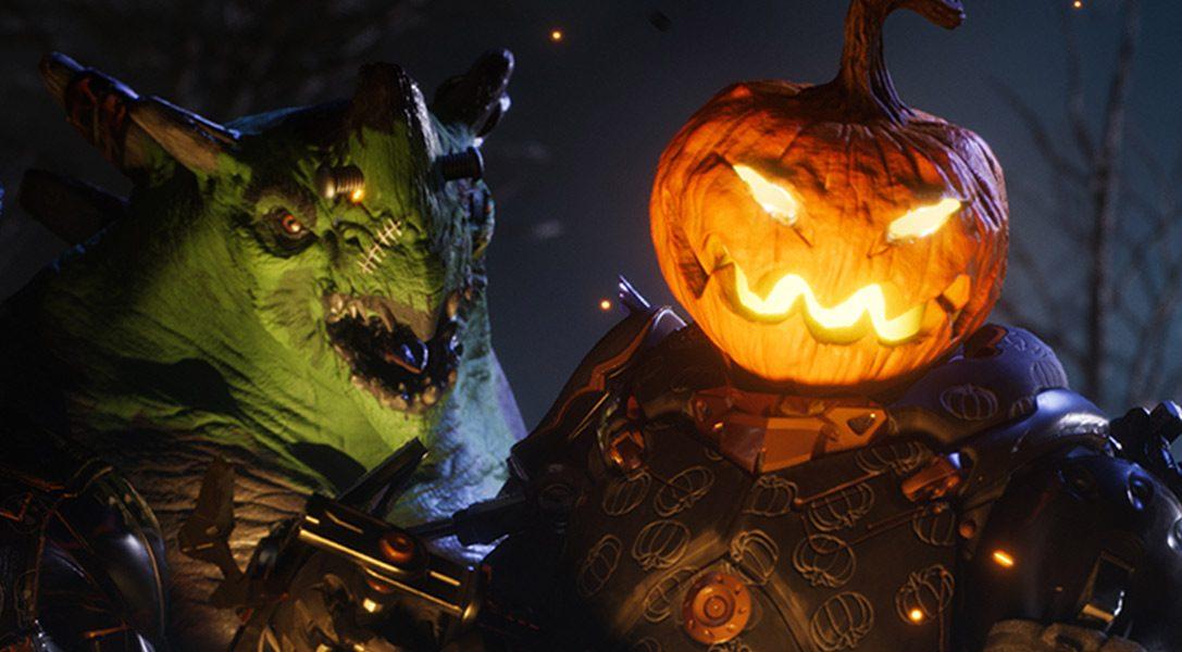 Только в этом месяце в MOBA Paragon на PS4 доступны облики на тему Хэллоуина