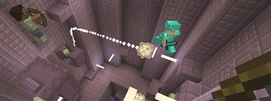 Обновление Holiday научит летать завсегдатаев Minecraft