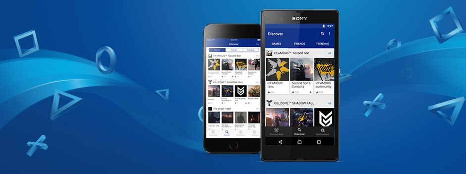 Будьте всегда на связи с приложением «Сообщества PlayStation» для iOS и Android