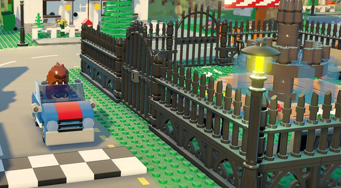 Стройте с друзьями, стройте лучше друзей в Lego Worlds на PS4