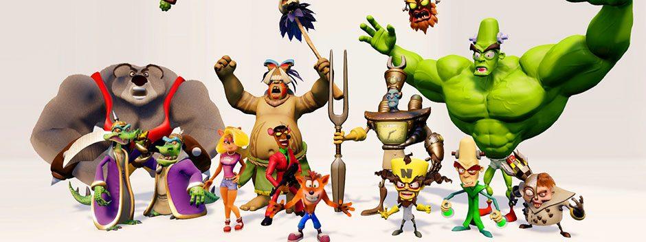 Crash Bandicoot N. Sane Trilogy — классика PS One оживет на PS4