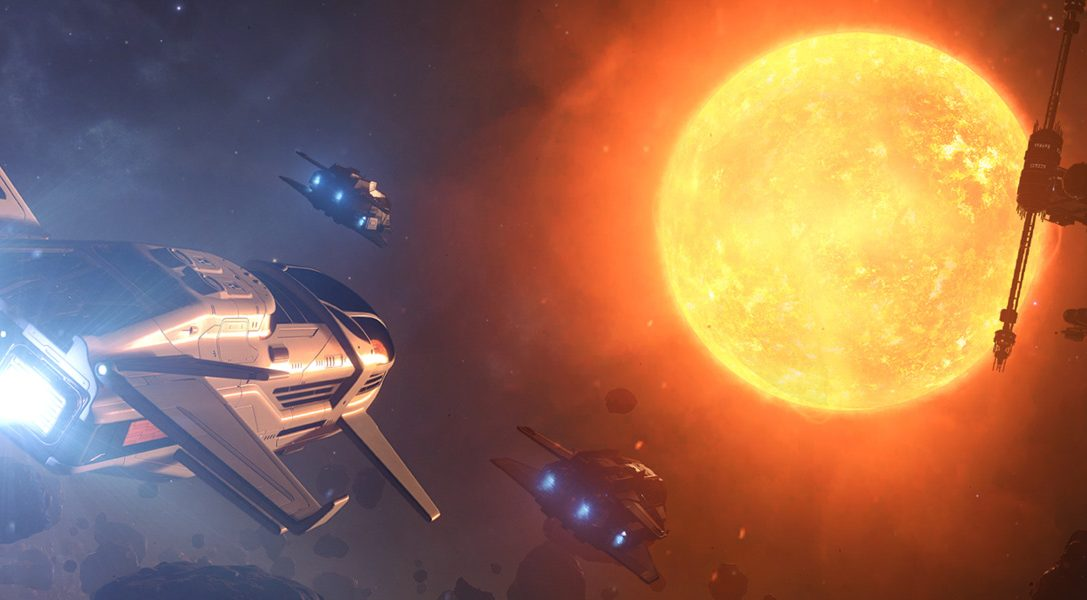 Покорите космос в Elite: Dangerous — в 2017 году на PS4