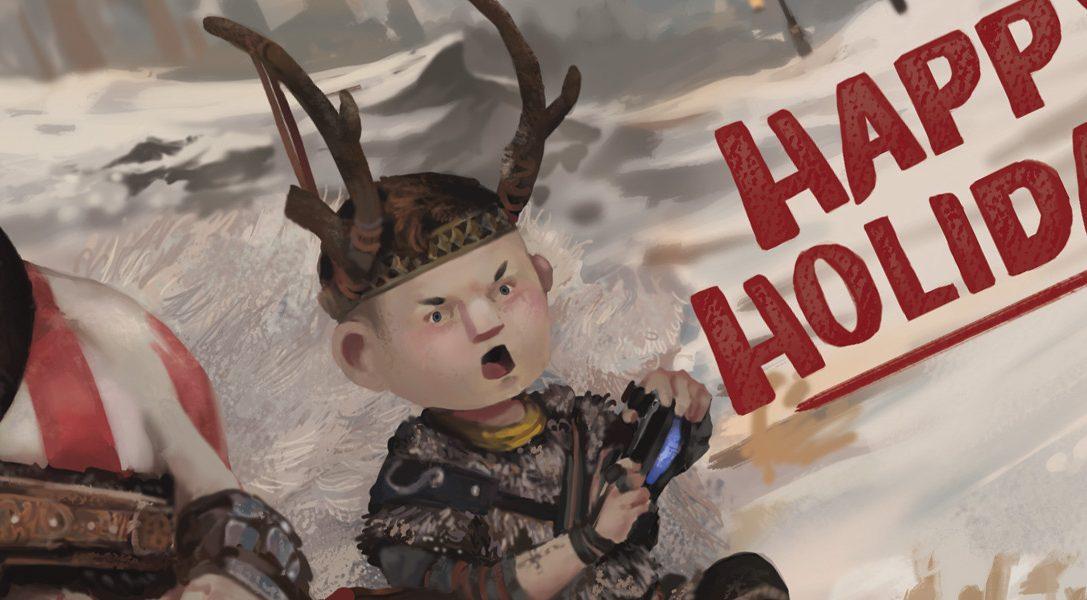 PlayStation поздравляет с грядущими праздниками!