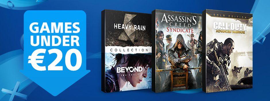 Еще больше игр в PS Store стали дешевле 1400 рублей
