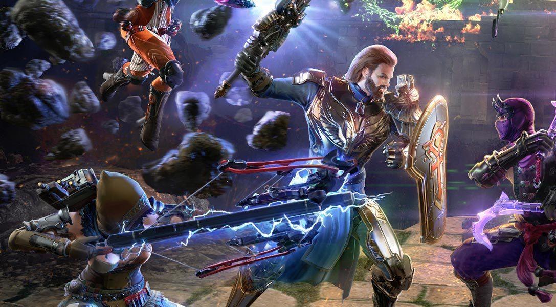Экшен-MMO Skyforge выйдет на PS4 весной 2017 года