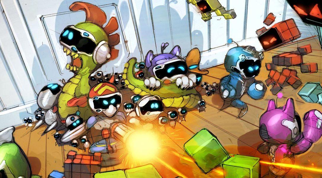 В The Playroom VR появилась новая бесплатная игра «Игрушечные войны»