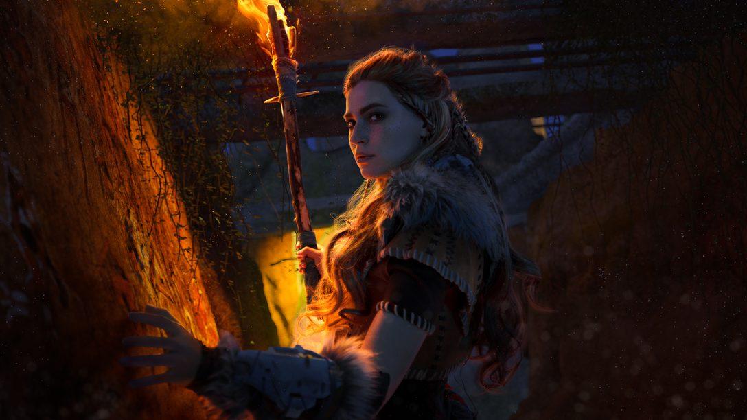 Косплей Элой — поклонницы Horizon Zero Dawn воплощают в жизнь образ рыжеволосой героини