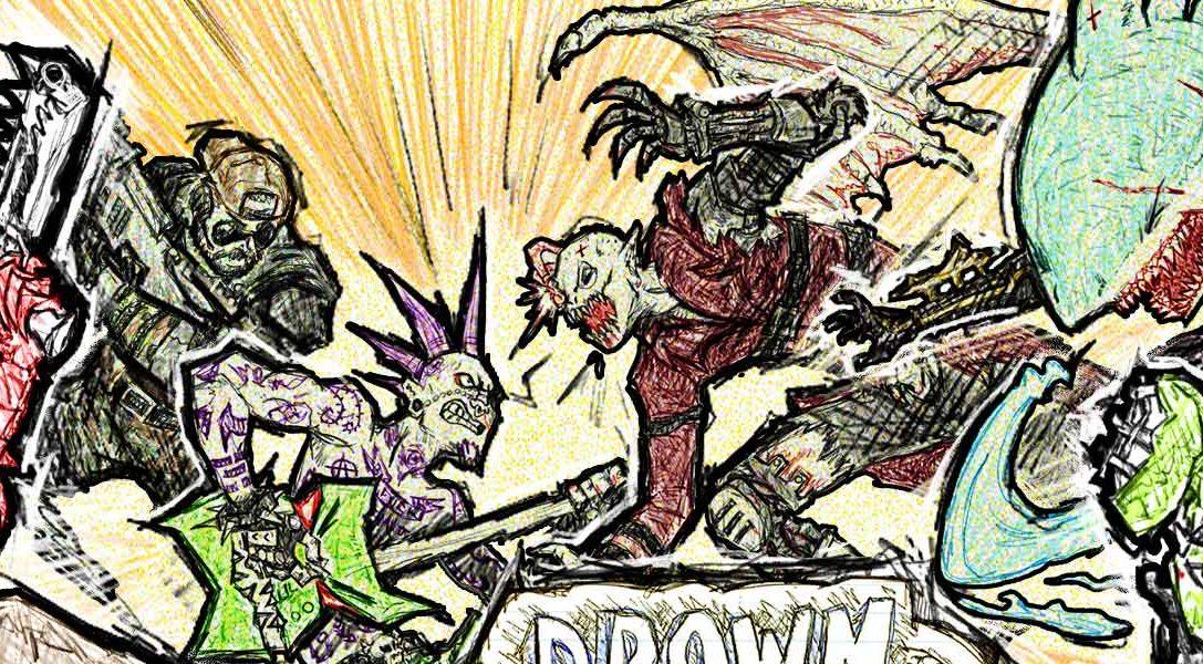 Шутер для PS4 Drawn to Death в апреле достанется подписчикам PS Plus бесплатно