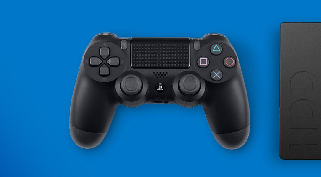 Как загружать и хранить игры и приложения для PS4 на внешнем жестком диске