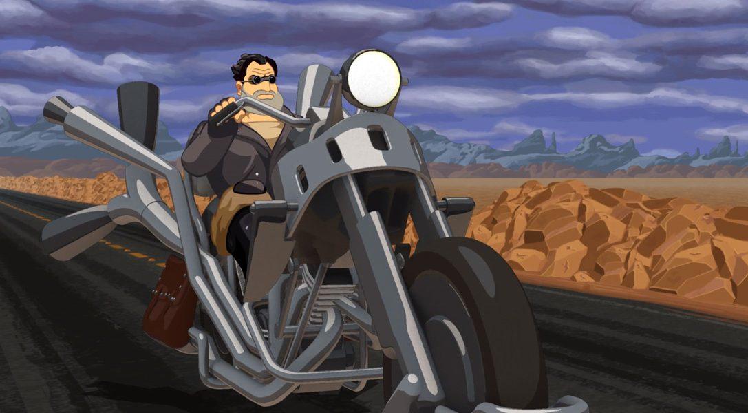 Сегодня премьера приключения Full Throttle Remastered на PS4 и PS Vita