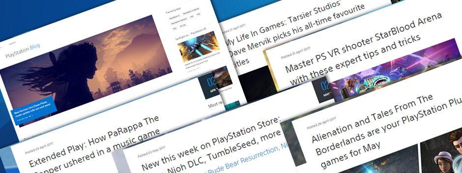 Добро пожаловать в обновленный блог PlayStation