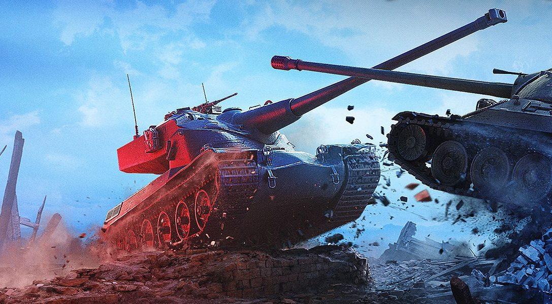 Финал турнира World of Tanks на PlayStation 4