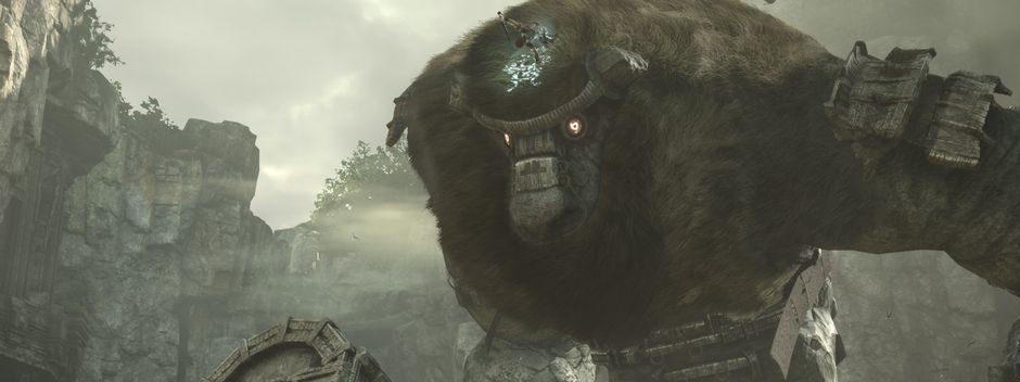 E3 2017: обновленная версия культовой игры Shadow of the Colossus выйдет на PS4
