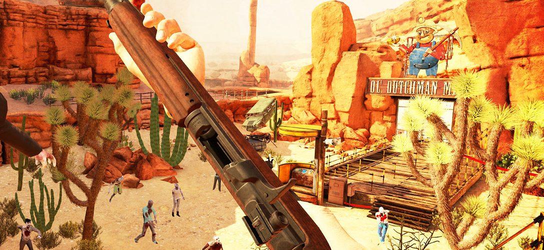 27 июня премьера зомби-шутера Arizona Sunshine для PS VR — скидка 10% для подписчиков PS Plus