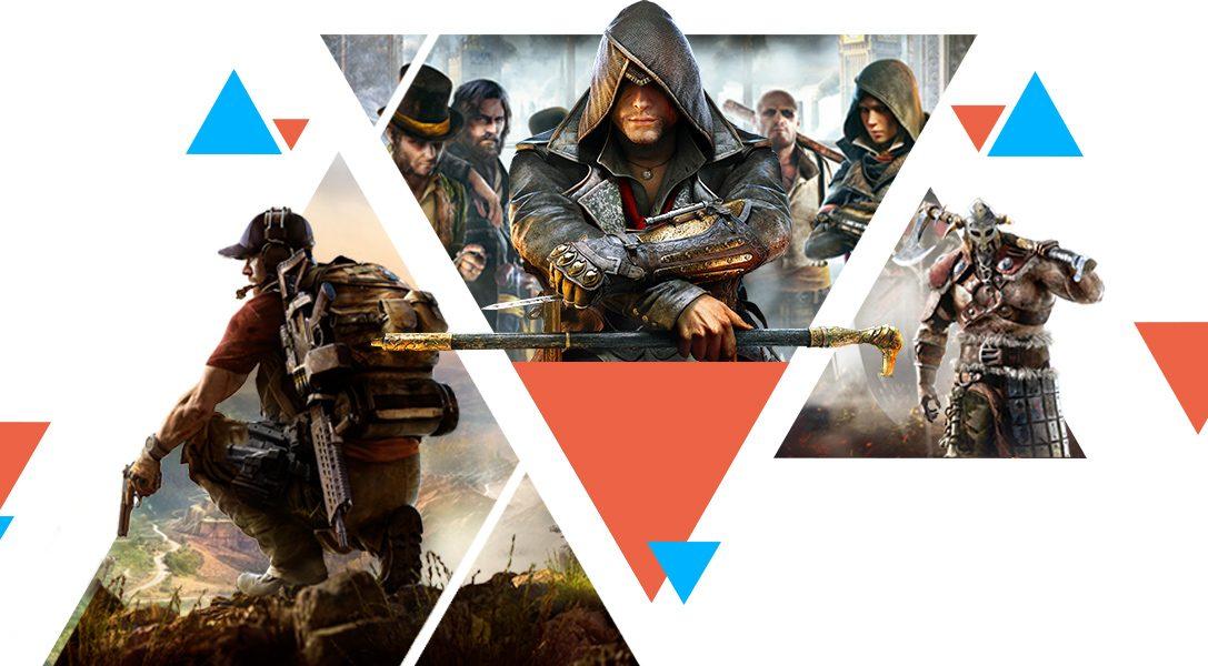 Рекордные скидки и распродажа Ubisoft в PlayStation Store