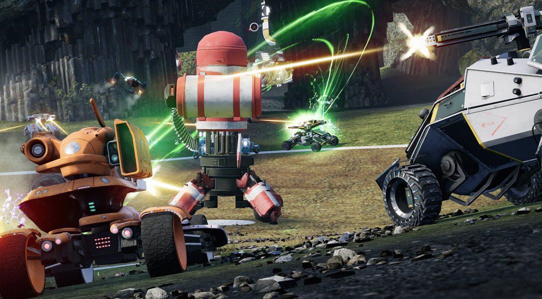 От создателей Blur и Geometry Wars — новый сетевой боевик Switchblade для PS4