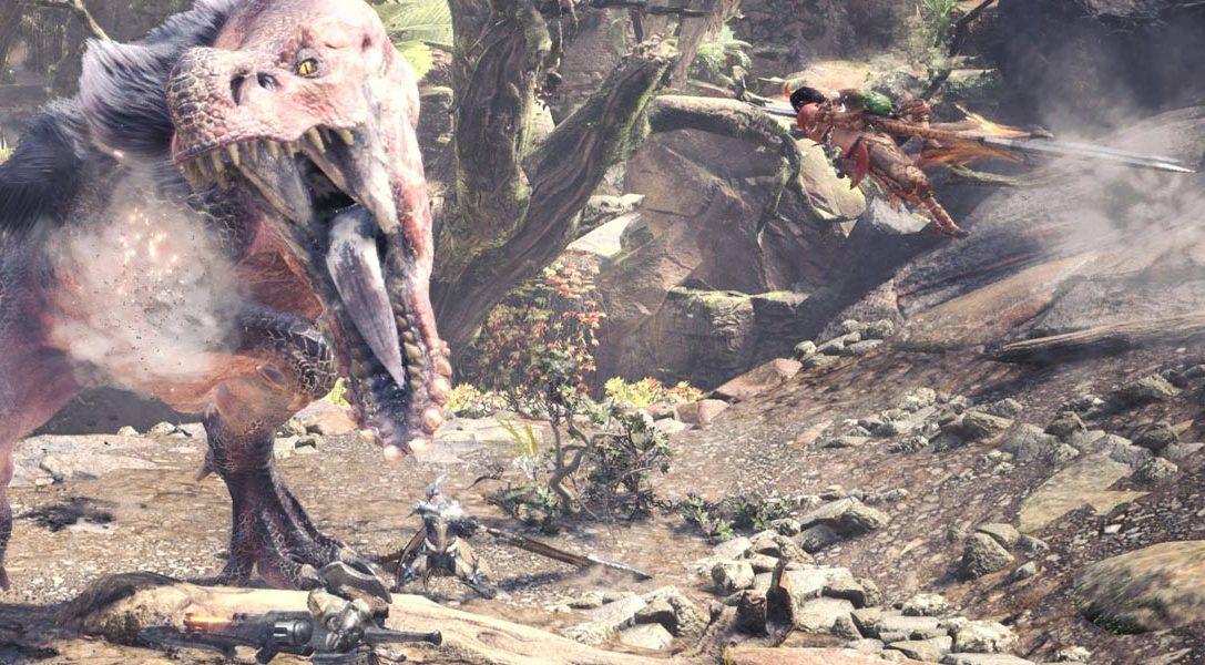 Monster Hunter: World объединяется с Horizon Zero Dawn