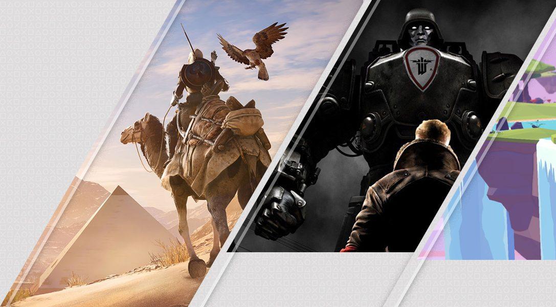 5 историй из разных эпох в новинках недели в PlayStation Store