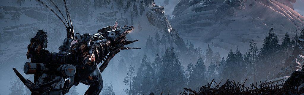Головокружительные красоты Horizon Zero Dawn The Frozen Wilds