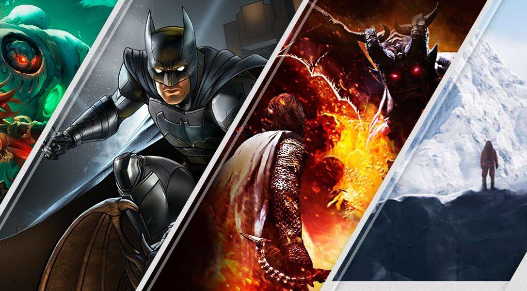 4 разноплановые новинки недели в PlayStation Store