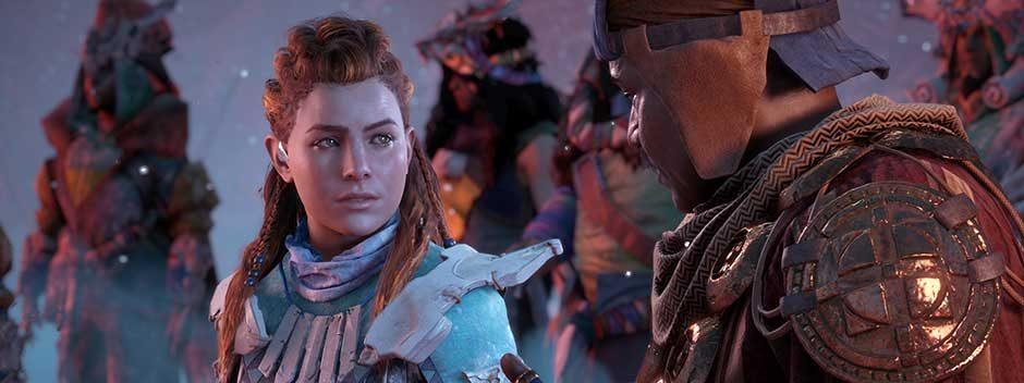 Представляем 12 минут игрового процесса Horizon Zero Dawn: The Frozen Wilds