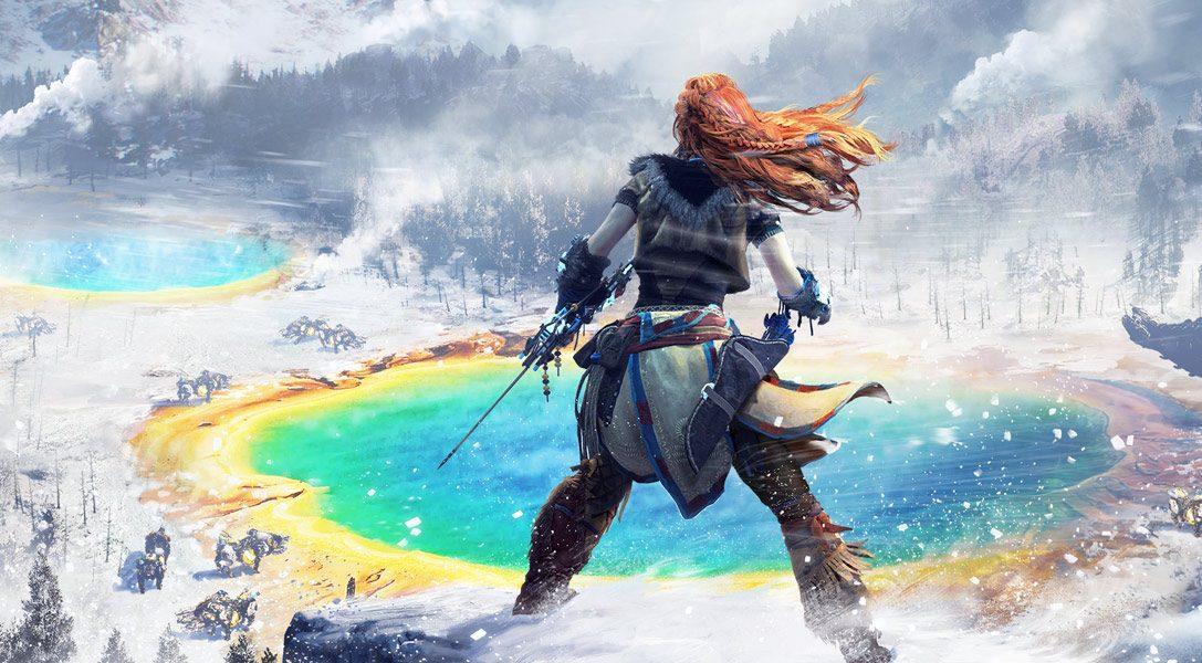 Horizon Zero Dawn: The Frozen Wilds — создание огневолка