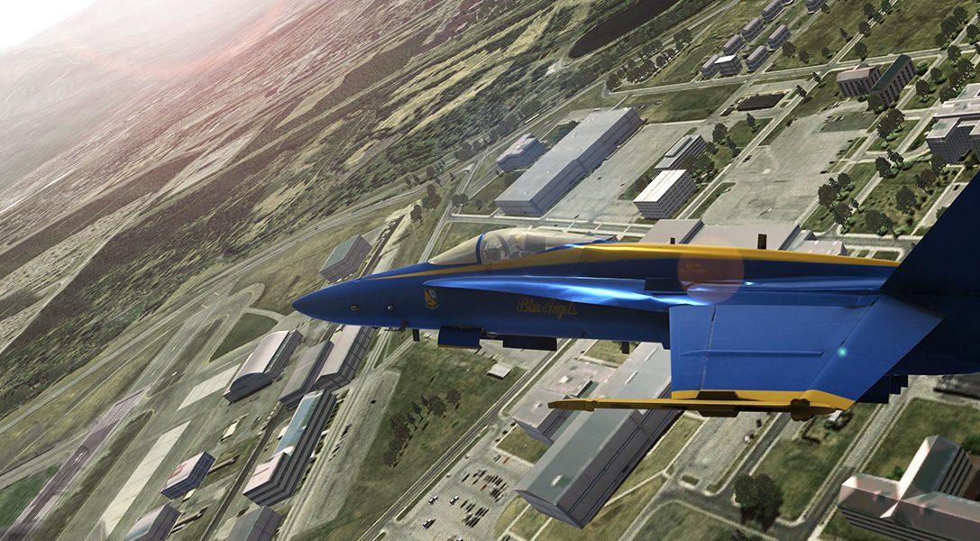 Blue Angels Flight Simulator — плод совместной работы любителя авиации и военно-морского флота США