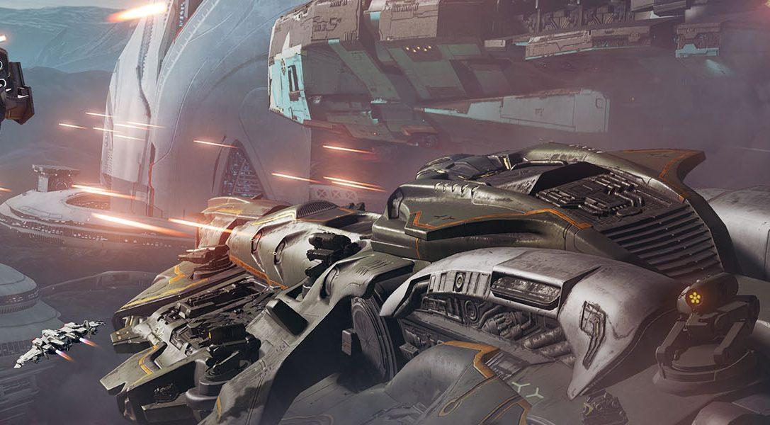 Состоялась премьера симулятора космических сражений Dreadnought для PS4