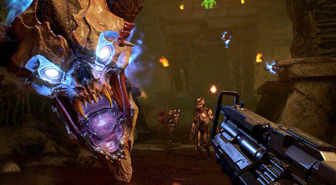 Doom VFR —  перед гарнитурой PS VR и контроллером прицеливания не устоять ни одному демону