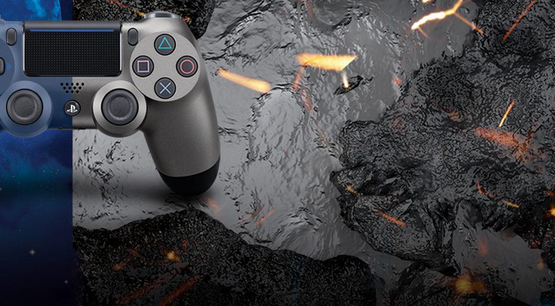 Представляем новые контроллеры Dualshock 4 в расцветках «Черный стальной» и «Полуночный синий»