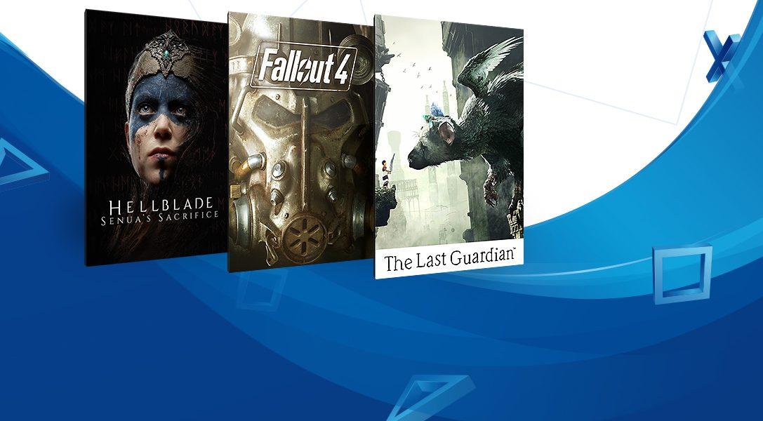 Распродажа в PlayStation Store — игры дешевле 1500 рублей