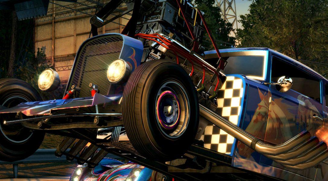 Burnout Paradise Remastered примчится на PS4 уже 16 марта