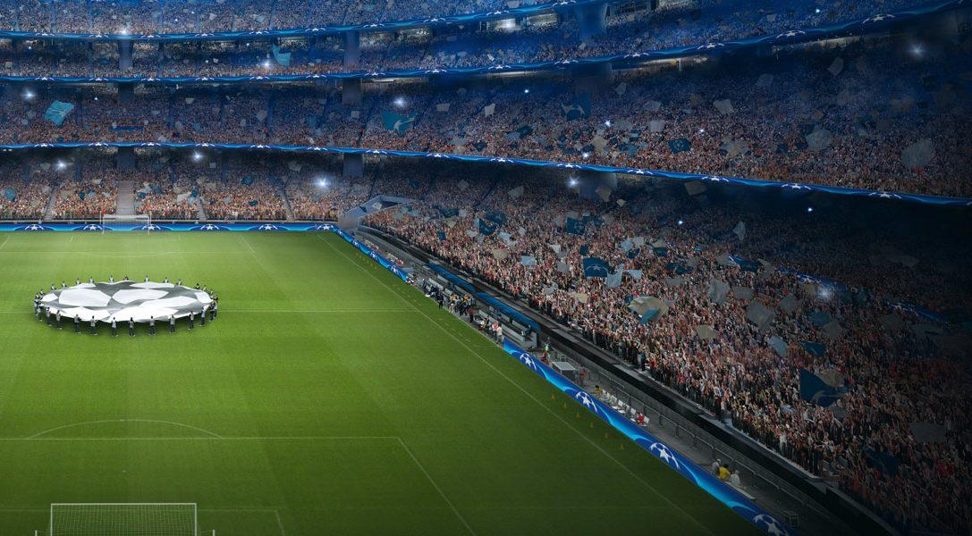 Вступайте в футбольный клуб PlayStation и выигрывайте билеты на финал Лиги чемпионов УЕФА 2018