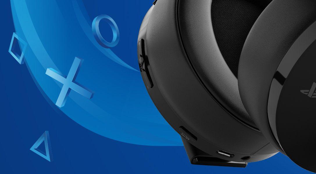 Представляем новую беспроводную гарнитуру Gold Wireless Headset для PS4 и PS VR