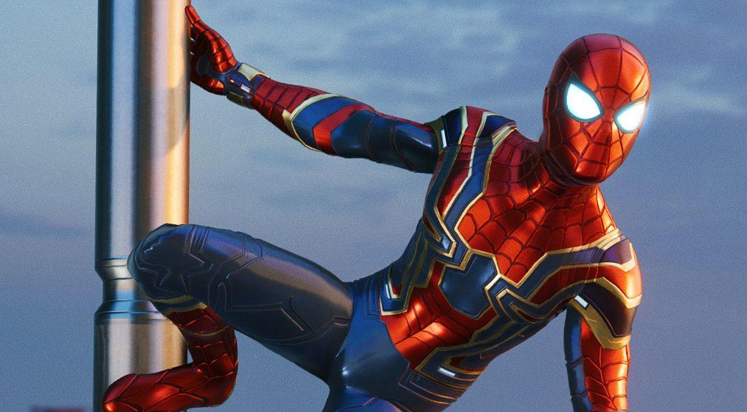 Костюм Железного Паука по мотивам фильма «Мстители: Война бесконечности» от Marvel станет доступен в игре «Человек-паук» с 7 сентября