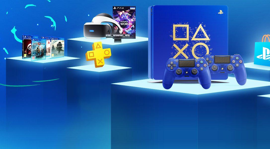 Распродажа «Время играть» впервые в России: вас ждет 11 дней огромных скидок и новое специальное издание консоли PS4