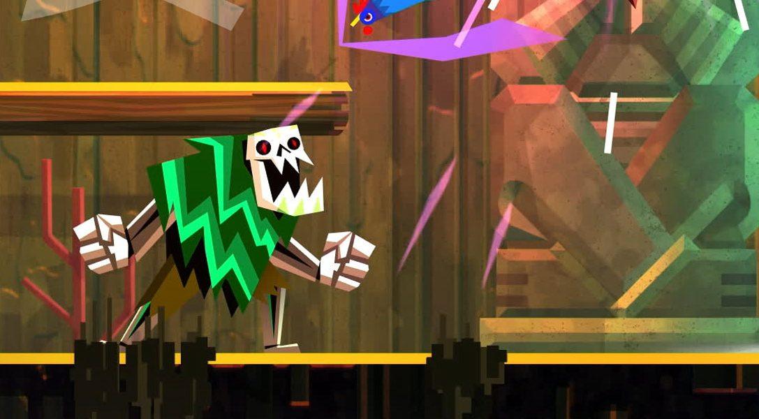 Красочный боевой платформер Guacamelee! 2 появится на PS4 в следующем месяце