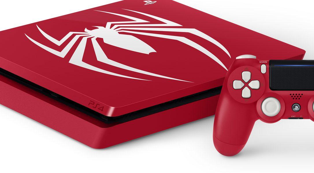 Представляем особое издание PS4 Pro с игрой «Человек-паук»
